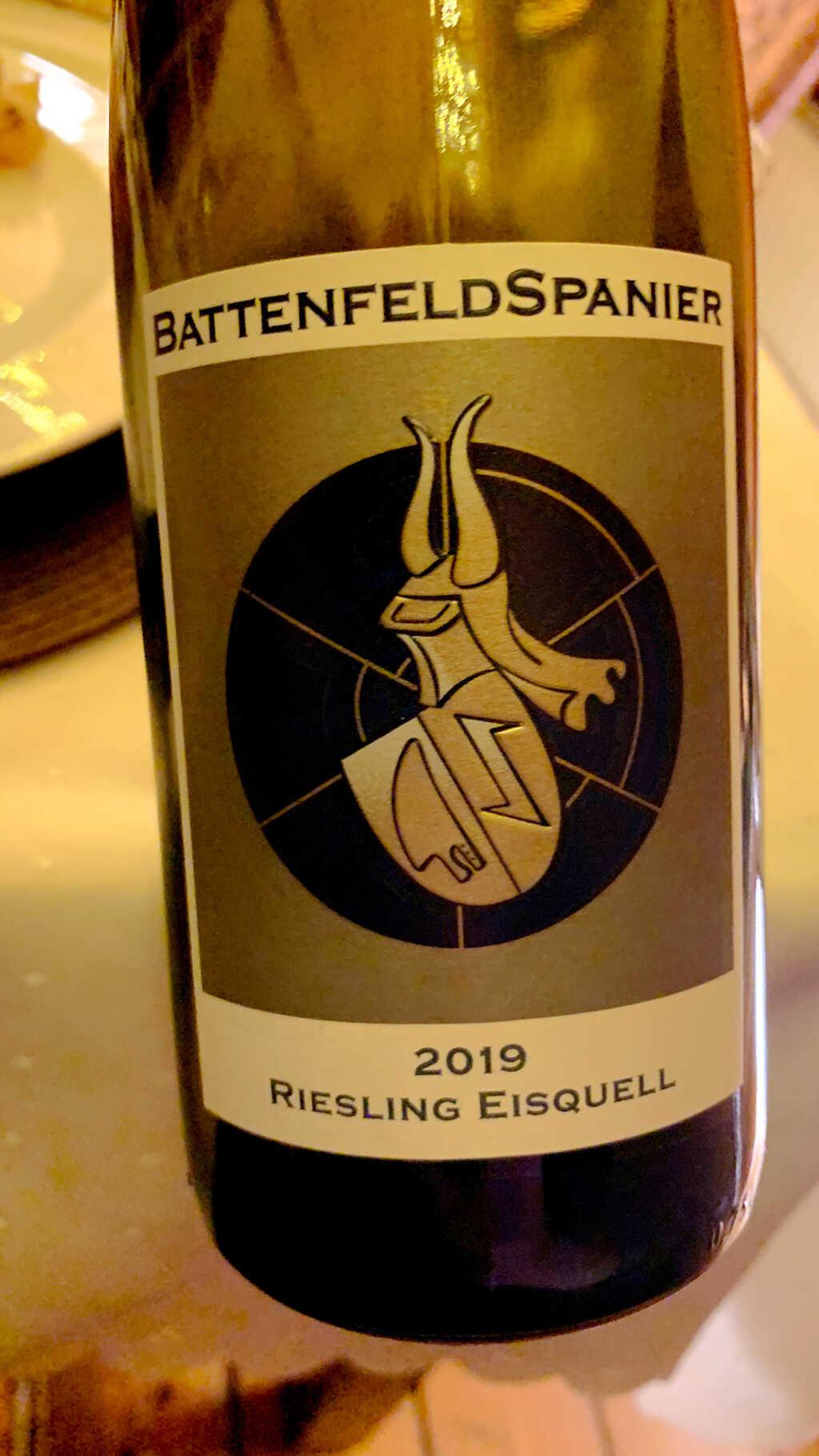 2019 Eisquell Riesling von BattenfeldSpanier