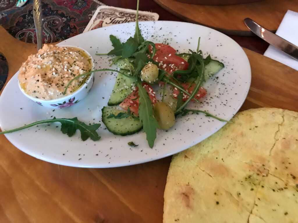Hummus mit Pita