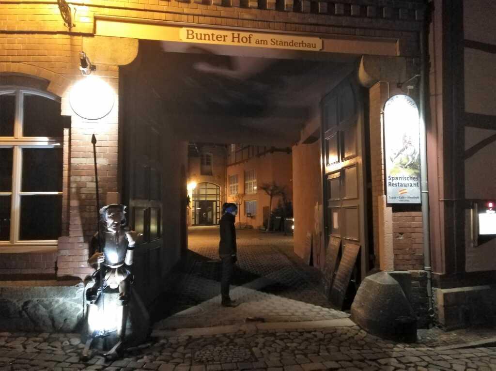 Eingangstor zum Innenhof