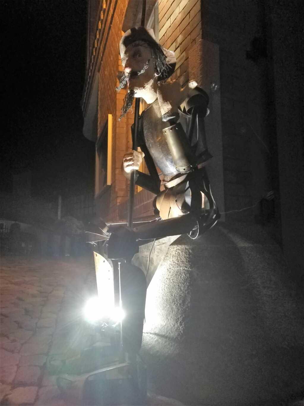 Die Don Quixote-Skulptur von Jochen Müller