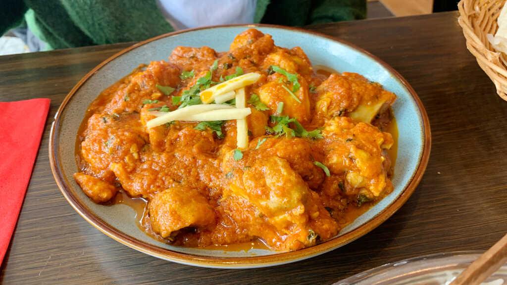 Chicken Curry (Mittagskarte)