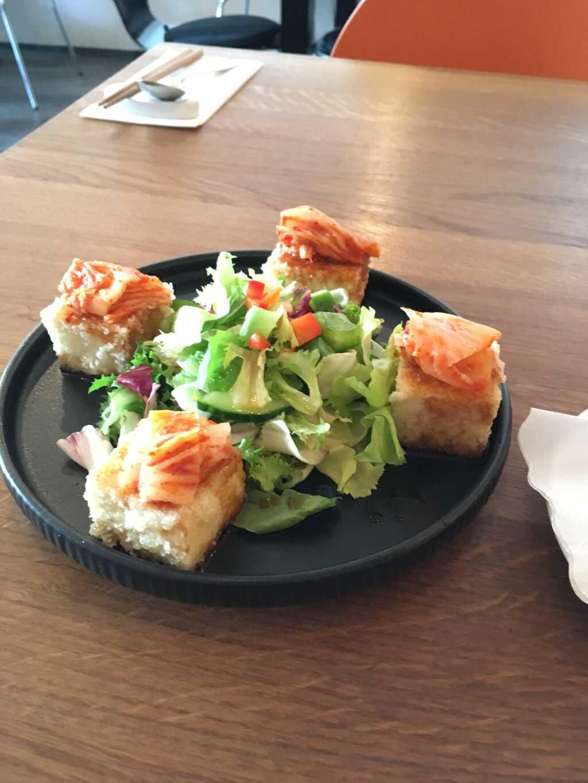 Kimchi-Tofu-Salat.