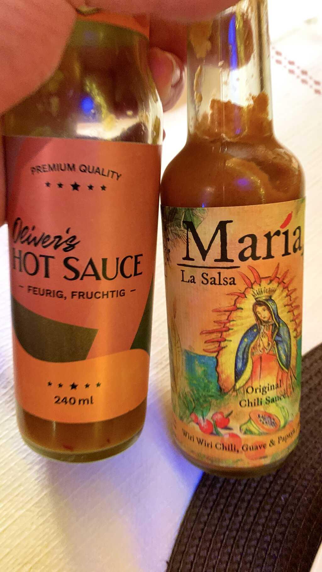 Hot Sauces / eigener Fundus