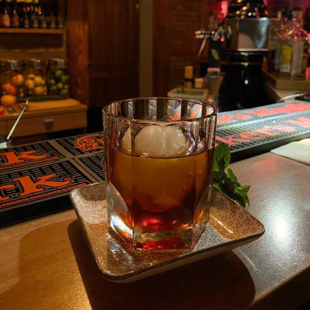 Cocktail im Spiritus