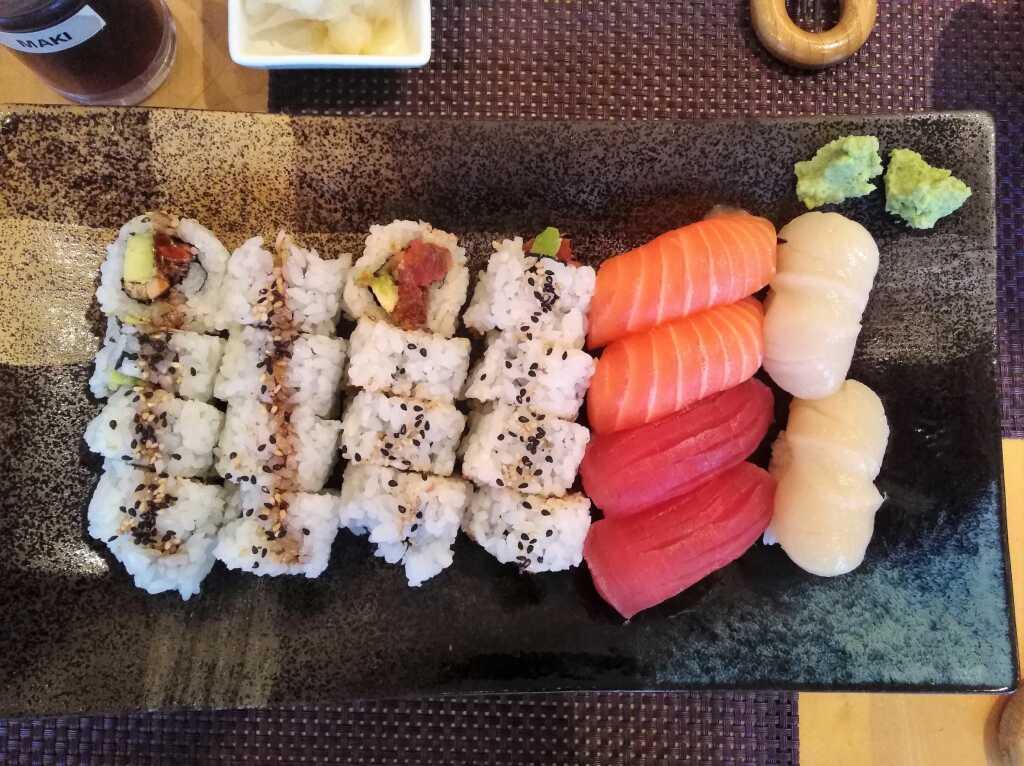Unser erster Sushi-Gang