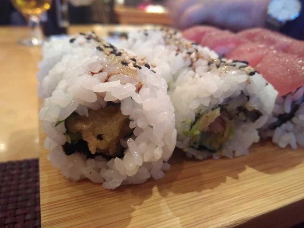 Crispy Shrimp Roll (mit Tempura-Garnele)