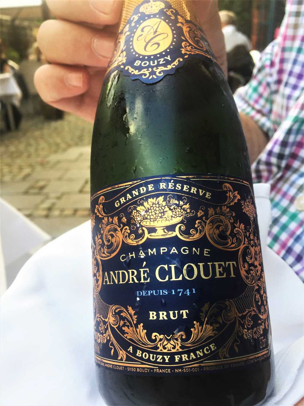 Champagner André Clouet