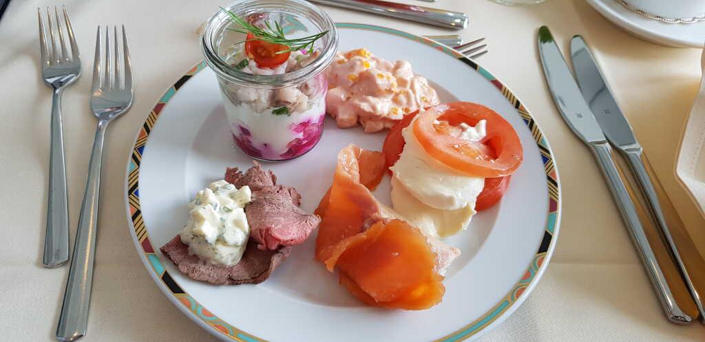 1. herzhafter Frühstücksgang