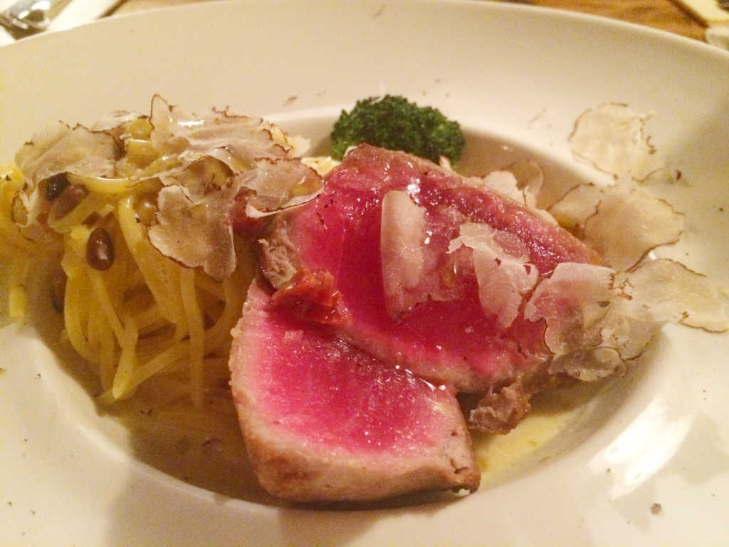 Filet vom Yellow Fin Tuna