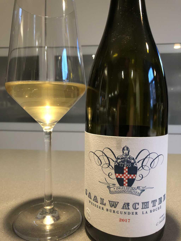 Der Wein heute: 2017 Weißer Burgunder