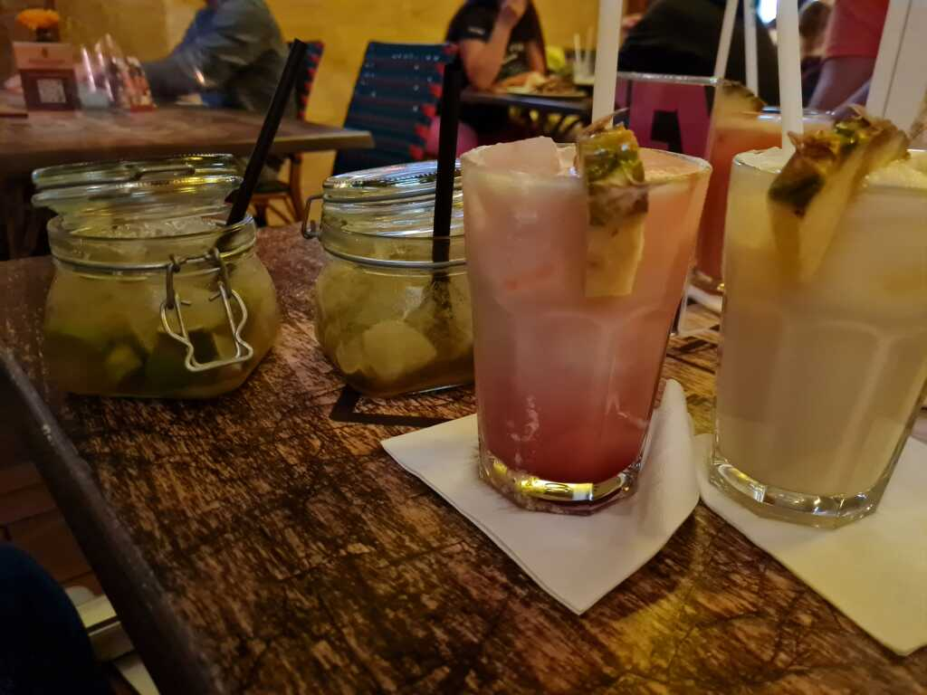 Sex on the Beach und  Double Caipi