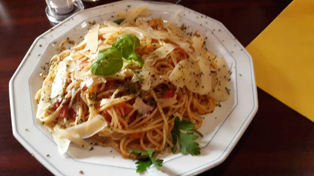 Spaghetti a la Toscana