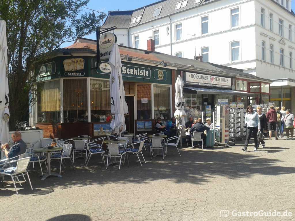 Gastst 228 Tte Seekiste Kneipe Biergarten In 26757 Borkum