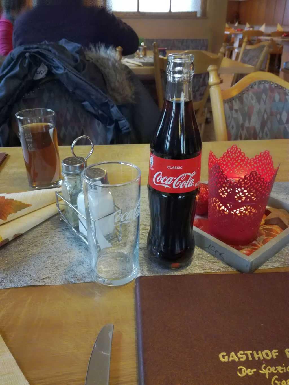 Cola in Flasche