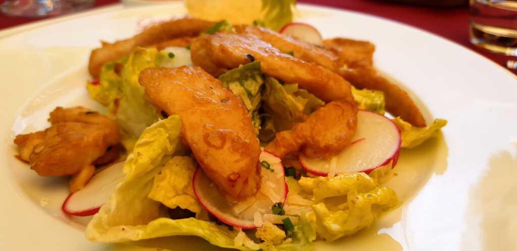 Caesar´s Salad mit Perlhuhn