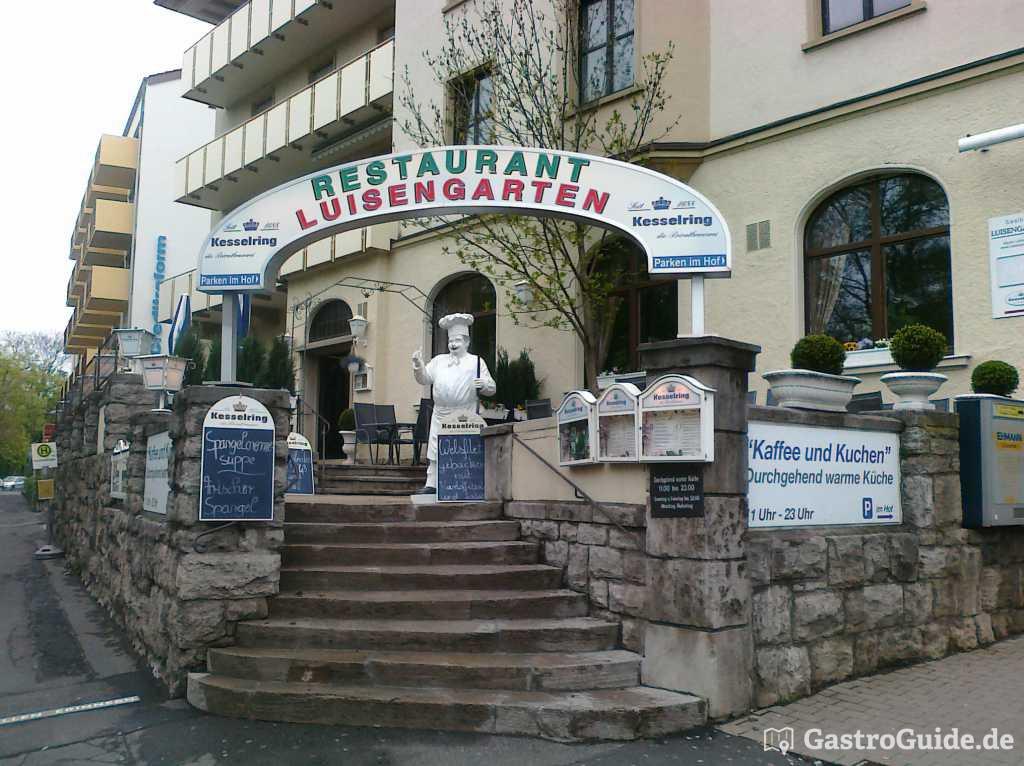 luisengarten restaurant in 97072 w rzburg. Black Bedroom Furniture Sets. Home Design Ideas