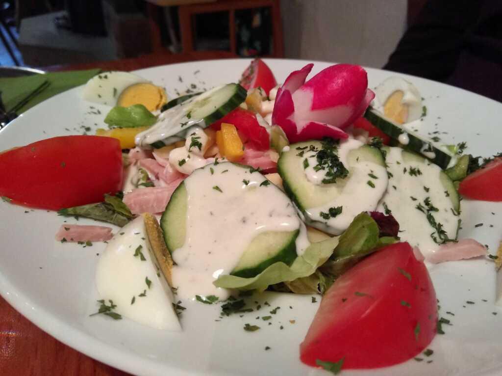 Der Italienische Salat vom Kollegen