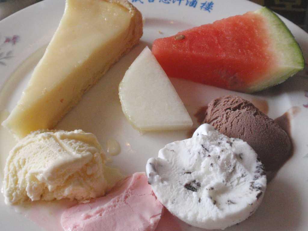 Obst und Eis