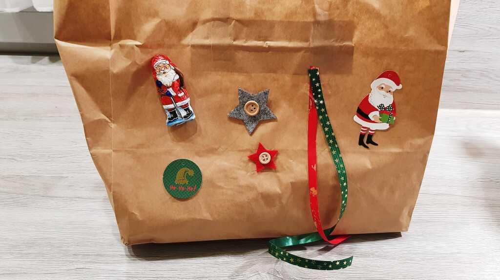 Weihnachtliche Lieferung