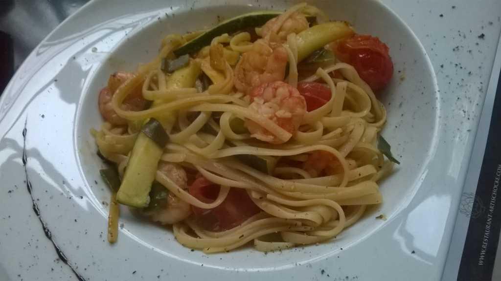 Linguini Scampi
