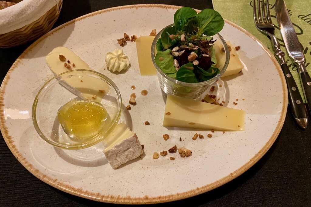 Käse-Variation