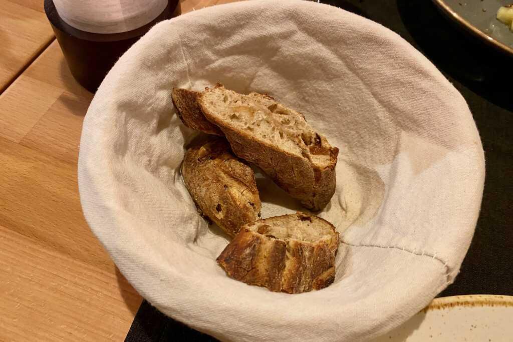 Brot zur Käsevariation