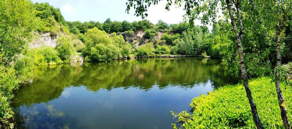 Der Silbersee, nahe am Waldgasthof