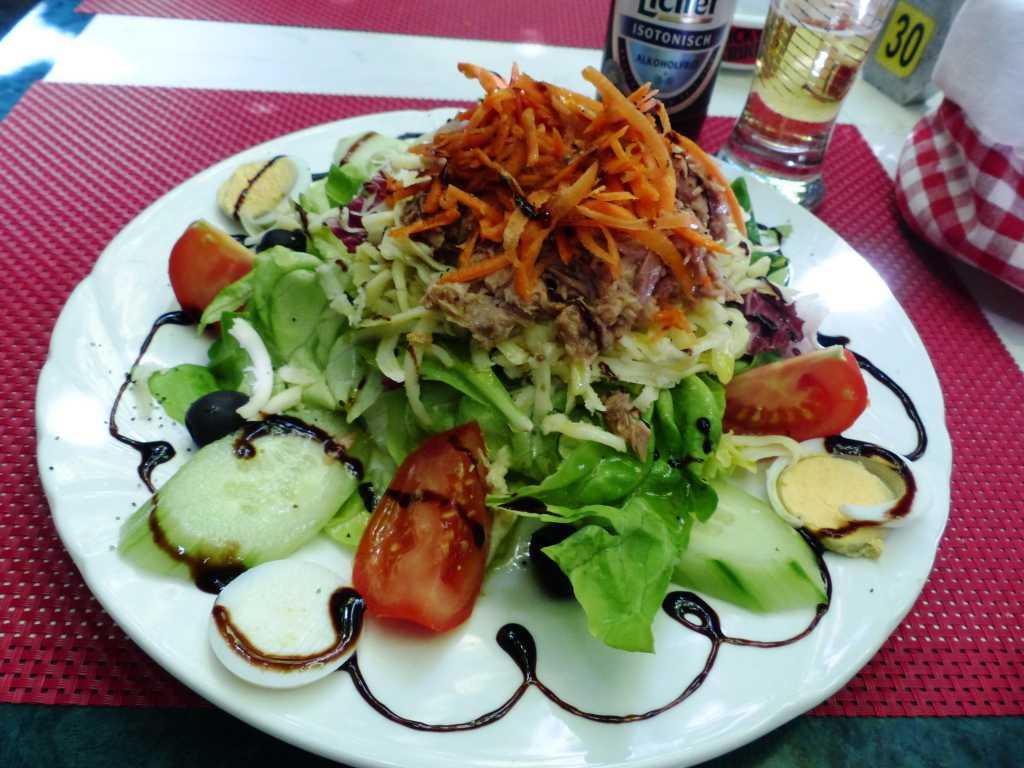 italienischer Salat mit Thunfisch