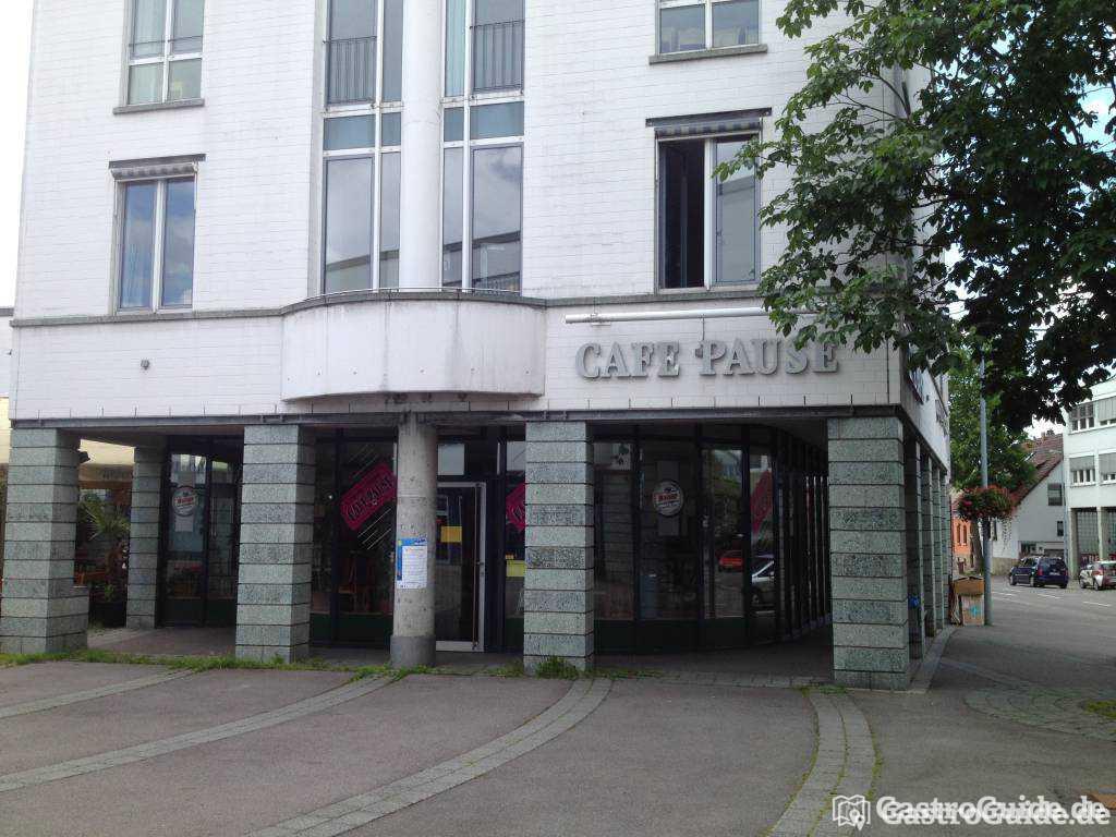 cafe pause restaurant cafe in 73760 ostfildern. Black Bedroom Furniture Sets. Home Design Ideas