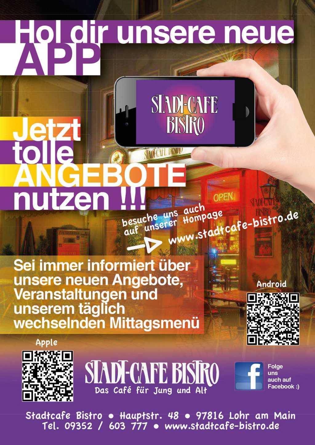 Bild zur Nachricht von Stadtcafe- Bistro