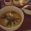 japanische Pilzessez mit Wan Tan