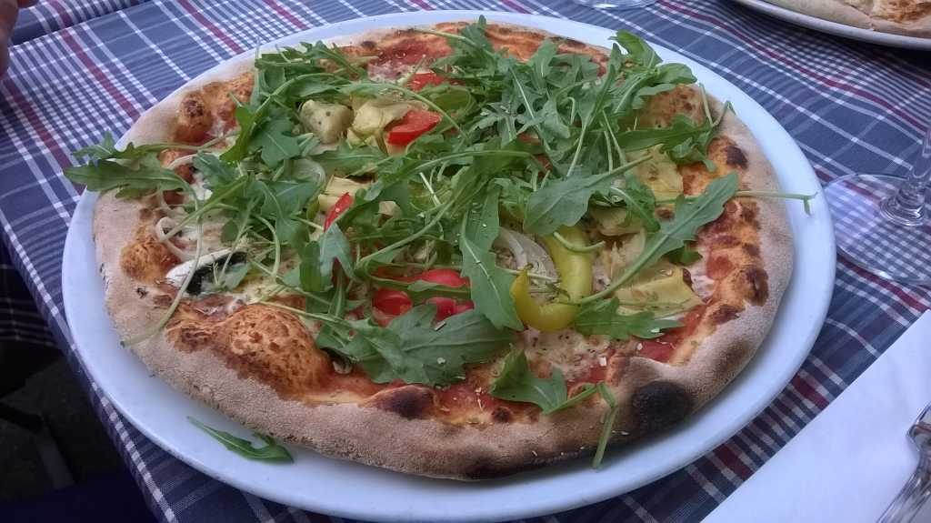 Pizza Vegetaria + Rucola