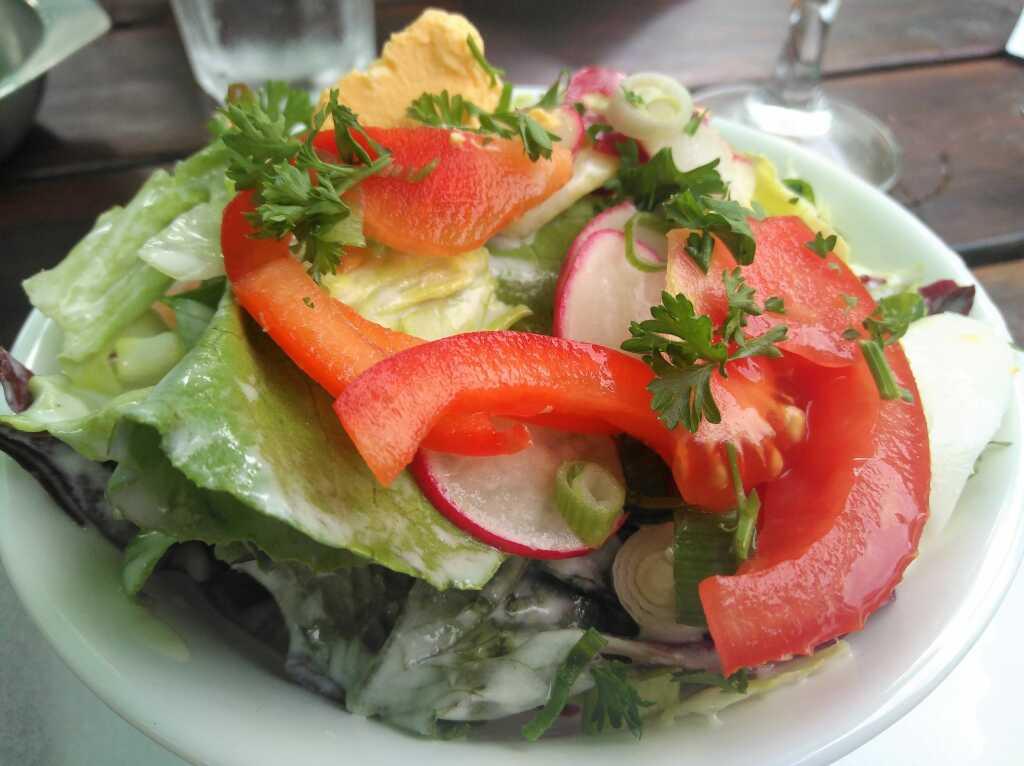 Kleiner Salat mit...