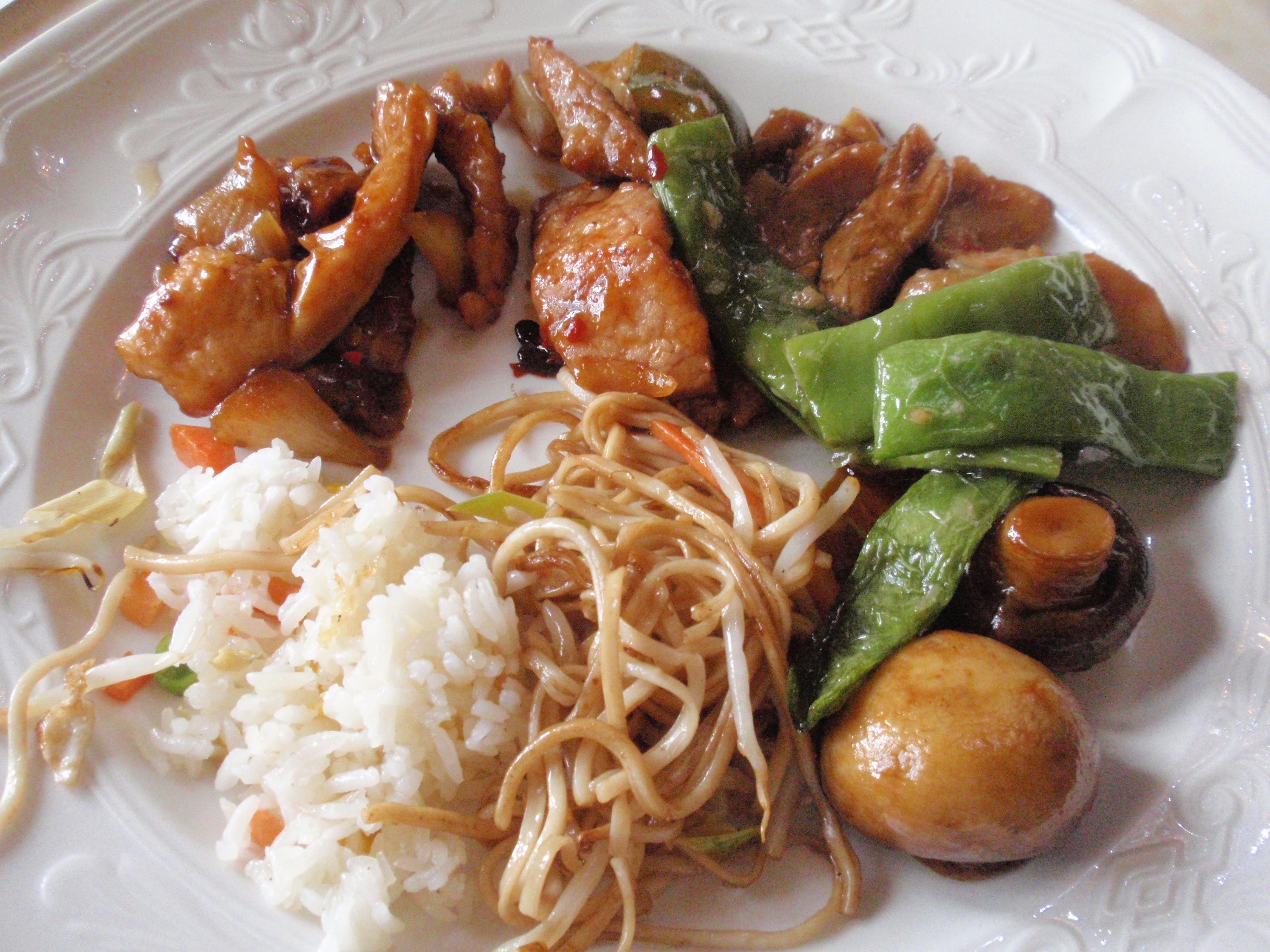 Teller aus chinesischem Bereich