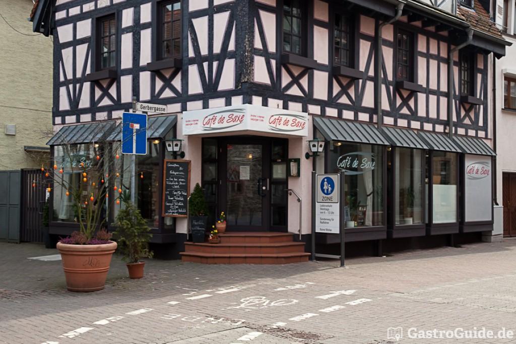 Bensheim Cafe De Saxe