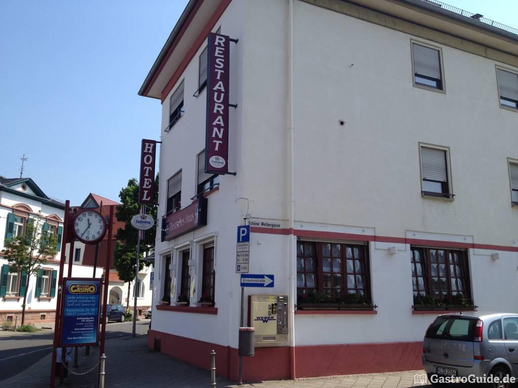 Hotel Restaurant Deutsches Haus Restaurant in