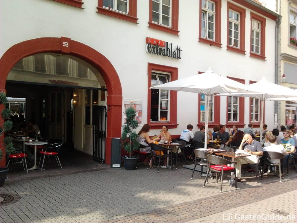 cafe extrablatt bistro cafe in 69117 heidelberg. Black Bedroom Furniture Sets. Home Design Ideas