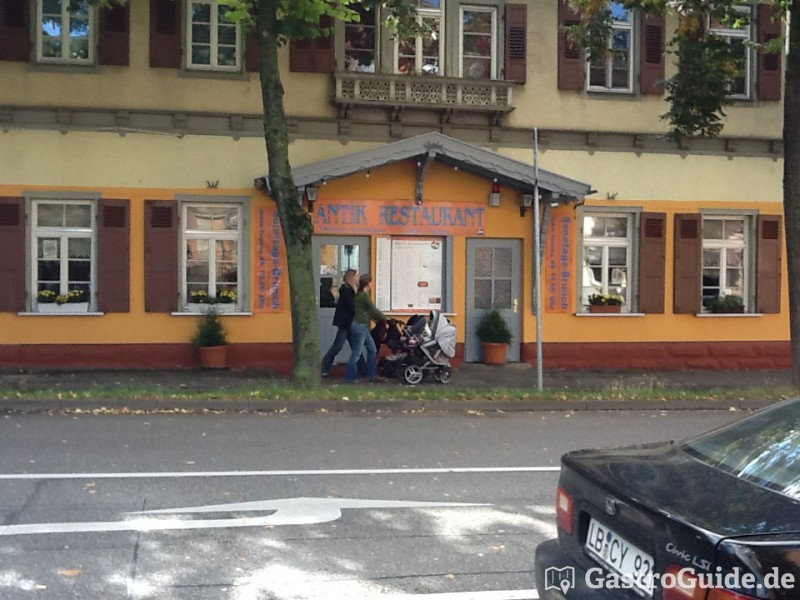 antik restaurant in 71634 ludwigsburg. Black Bedroom Furniture Sets. Home Design Ideas