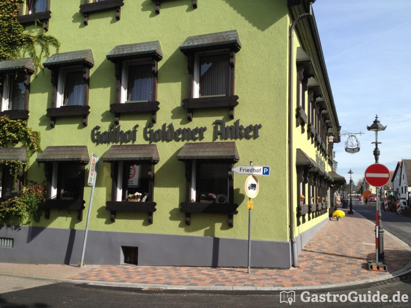 landgasthof zum goldenen anker restaurant landgasthof. Black Bedroom Furniture Sets. Home Design Ideas