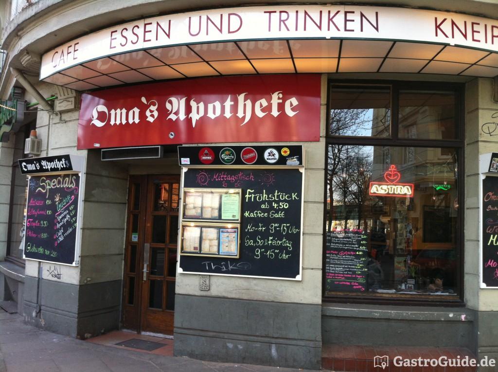 omas apotheke restaurant cafe kneipe in 20357 altona hamburg. Black Bedroom Furniture Sets. Home Design Ideas